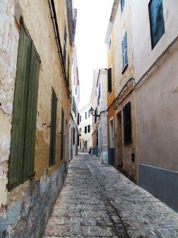 Petites ruelles typiques de Ciutadella